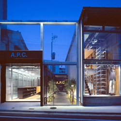 The newly renovated A.P.C. store in Japan, by famous Wonderwall architects, came out incredible. By the same architects that did the Uniqlo store in NYC, and it is balanced + modern yet still warm!