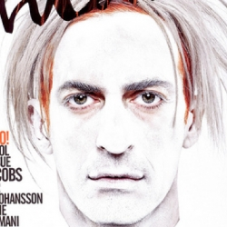 Marc Jacobs is on the cover of Interview magazine and they gave him a Warhol make-over, as he is named by them the new Warhol!
