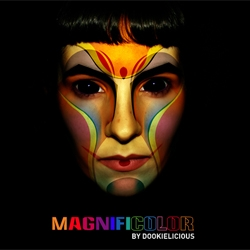 Brilliant website to promote Dookielicious' MAGNIFICOLOR fashion range.