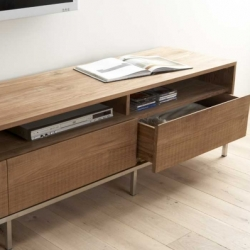 Lekker Home's Teak collection of coffee tables, sideboards, console tables, and more