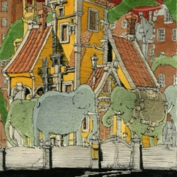 """Original Q&A style interview with """"One of the greatest artist of our time,"""" Mattias Adolfsson"""