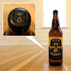 Mmmmm and adorable branding as well ~ Fox Barrel Hard Cider!