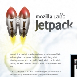 Mozilla Jetpack is looking pretty awesome ~ check out the video