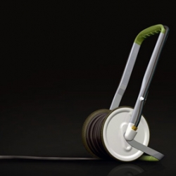 Very cool way to store your garden hose - The Hose Wheel by Matthew Swinton
