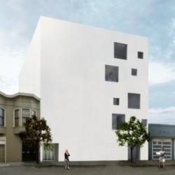 130 Dore Street in California by Stanley Saitowitz ~ an interesting boxy design in SF...