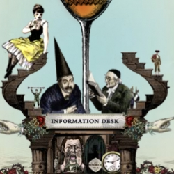 Hendrick's Gin website! The Hendrick's Curiositorium is full of fun animations in a Monty Python meets early 1900s style! Search for the Easter Eggs.