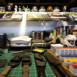On inspiring spaces ~ we take you inside the design studio behind the Rocket World I.W.G toys and the amazing T.A.D. Gear tactical wear that no design should be without... weaponry+toys+nature!