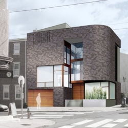 I saw this house being built at 4th and Popular Philadelphia, yesterday... It looks really cool. by QB3 Their webpage is cool too...
