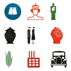 Gerd Arntz Web Archive of absolutely stunning icons from the 30s
