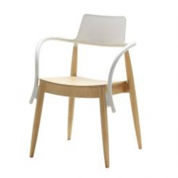 IKEA PS SLINGRA by Ehlén Johansson ~ fun hybrid of old and new... literally looks like two chairs in one!