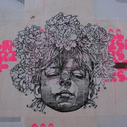 Street Artist: Gaia, Taming Nature, a short clip on his work. Incredible stuff, Rock on.
