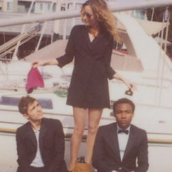 I just love how Band of Outsiders designer Scott Sternberg still showcases his collections in Polaroid lookbooks. Spring 2010 features Leslie Mann, Dave Franco and Donald Glover - beautiful!