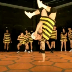 How do Bee-Boys and Bee-Girls celebrate when they've found a stash of sweet nectar? They take it to the dance floor. Video for Haagen Das' HelpTheHoneyBees.com