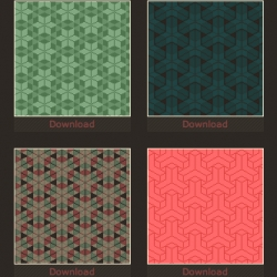 Squidfingers, the portfolio of Travis Beckham, has a beautiful gallery of patterns— 158 patterns, currently— great for tiled website backgrounds.