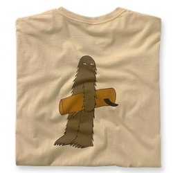Geoff McFetridge for Patagonia ~ love this big foot with his tree-surfboard? That expression is priceless...