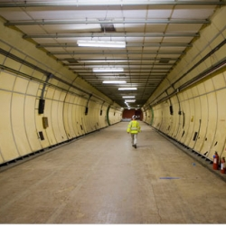 LONDON — For sale: a vast tunnel complex in central London. The asking price is $7.4 million.