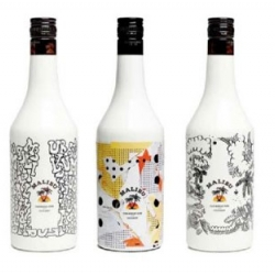 Malibu got together with three artists to make a limited edition series of their liquor. Delta, So_Me and James Jarvis designed each a bottle, coming in a numbered limited edition of 100 bottles each.