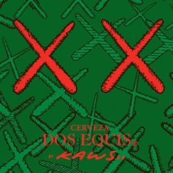 Kaws is really active these days. Here is a first look at a limited edition Dos Equis beer label, to come out exclusively on the Mexican market soon.