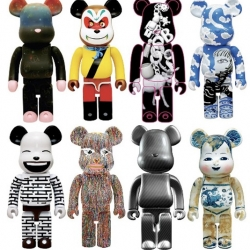 A great new project, taking place in China, where some of China's most prominent artists have been invited to create their own version of the Medicom Toy 1000% Bearbrick. My favorite, the all carbon Bearbrick!