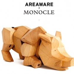 Meet Hugo the wild boar. A design collaboration between Monocle and Areaware. Cute but tough!