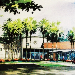 Aveda Institutes Florida ~ fun look at the new building from sketches to final