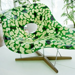Loving this new look of Camouflage La Chaise by Yasumichi Morita. It gives this all-time classic a completely new look.