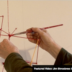 DLF.TV releases one high quality video profile a month on a creative person. This month, profiles sculptor and fine artist, Jim Shrosbree. who creates wall-based sculpture, utilizing many different materials, shadows, and reflections.