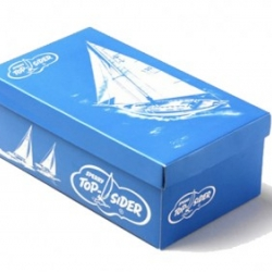 Sperry-Topsider goes retro on their packaging for their 75th anniversary with a new collection offered in a limited edition box, an exact replica of the originals used back in 1935.