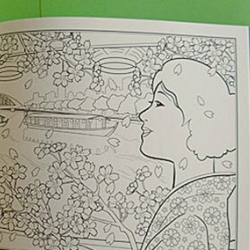 A new trend coming from Japan - coloring books for adults!