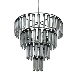 Also from Sundayland in their lighting section under products.... Sylvia ~ a chandelier of silver plastic vibes... (thanks tweeter @n3rd)