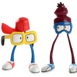 Some great toy characters that Todd James aka REAS created for Stussy this year.