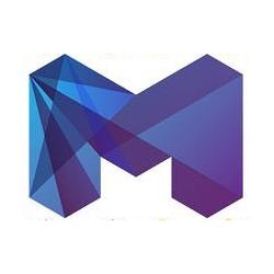 New futuristic, batmania styled logo for City of Melbourne, Australia.