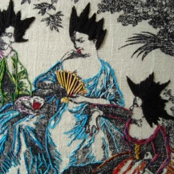 Loving Historically Inaccurate's Travers Cushions series