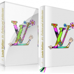 Louis Vuitton will be releasing a book on their art, fashion and architecture projects. A deluxe edition was designed by Takashi Murakami.