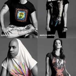 Gap introduces their artist series t-shirts and the line-up is impressive. Jeff Koons, Barbara Kruger and the likes put their art onto the t-shirts that are available now!
