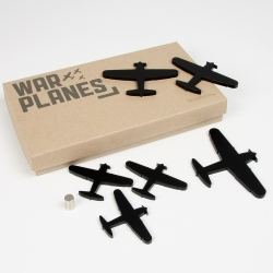 These war planes for kids from NZ company Newbies doubles as fridge magnets.  Multi-function design of kids toys.