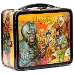 A stunning collection of over 50 vintage tin lunchboxes from the 50s, 60s and on.
