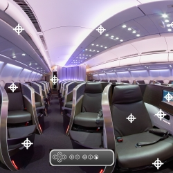 Virgin Atlantic launch PlaneView to showcase their new Upper Class Cabin.