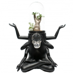 Plants of Gods, a beautiful figurative terrarium by Hong Kong designer Prodip Leung.