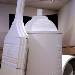 A series of larger-than-life objects for Denver Art Museum's Paint Studio exhibit. If you're in Denver, stop by the museum and you can paint on these! Pieces designed and fabricated by Sam's Garage.