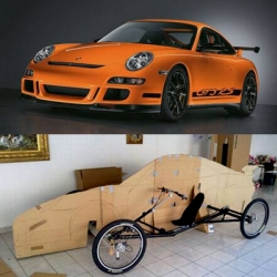 This is perhaps the most Eco-Friendly Porsche concoction to hit the streets!