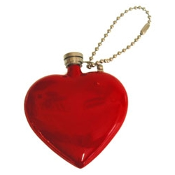 Lets be realistic here. There's something heartwarming about this flask... Heart Flask by Prestige... via BLTD