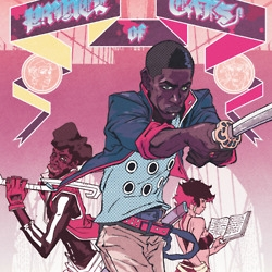 Comic artist, Ron Wimberly (aka D-pi), infuses comics & animation w/ fashion, hip hop, punk, iambic pentameter, and a stretched classical sensibility. His latest, Prince of Cats, is a must read.