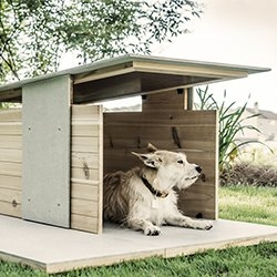 Puphaus: The Modern Dog Home. Time to ditch the plastic igloos and give our pups some stylish new digs.
