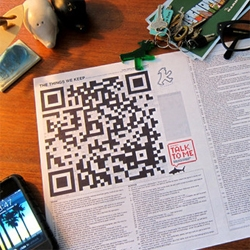 Christian Svanes Kolding's QR code crossword.