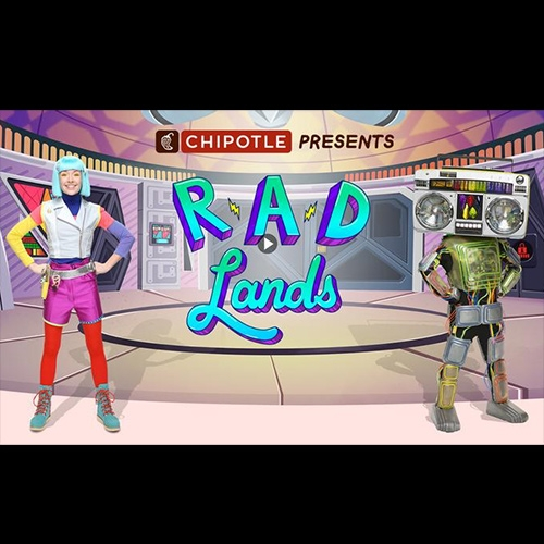 RAD Lands! (Respect. Appreciate. Defend.) is like Captain Planet + Yo Gabba Gabba, teaching kids about making good food choices and taking care of nature from Chipotle, The Magic Store (the team behind Yo Gabba Gabba), and Discovery Education.