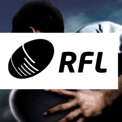 Good Creative : Logo design for the Rugby Football League (RFL). There is just something the contemporary edges and simplistic iconographic give to make this logo elegant despite the fact it represents such a brutal sport.