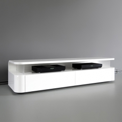 Who said that audio furniture can not be elegant? Pump up the volume in this latest design by Ronald Knol. And...no cables visible!