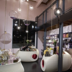 Great interior from the Los Angeles Design Group for RK Apothecary.
