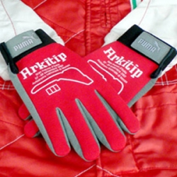 My favorite art publication Arkitip, gets together with Ferrari and Puma to create racing gloves and an entire issue on Italian art. Cannot wait!